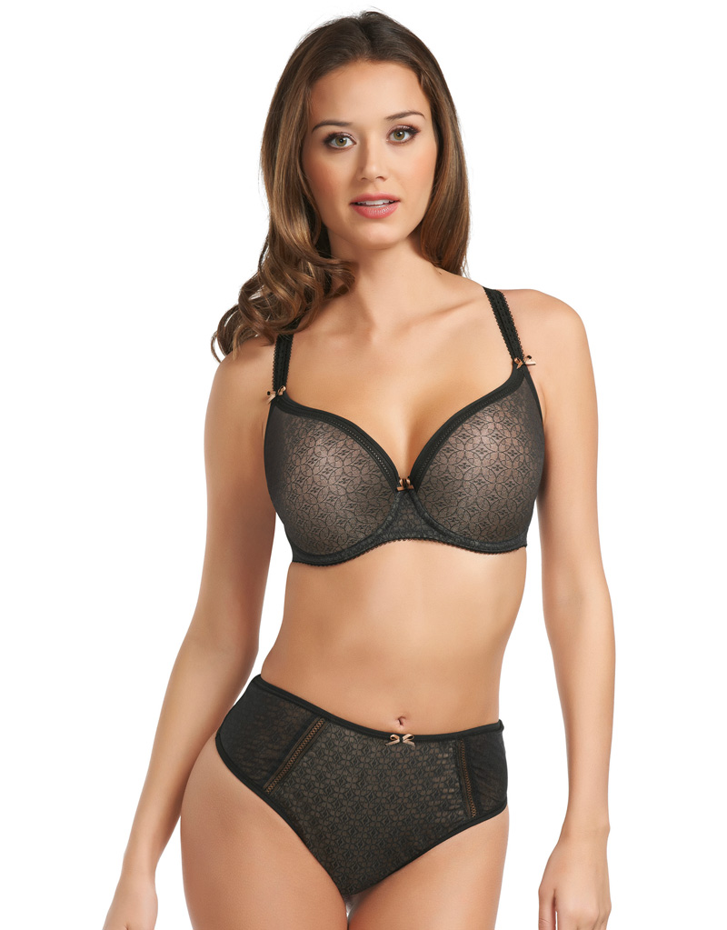The Fantasie Jana Moulded Bra Black